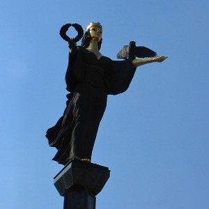 The Statue of St. Sofia