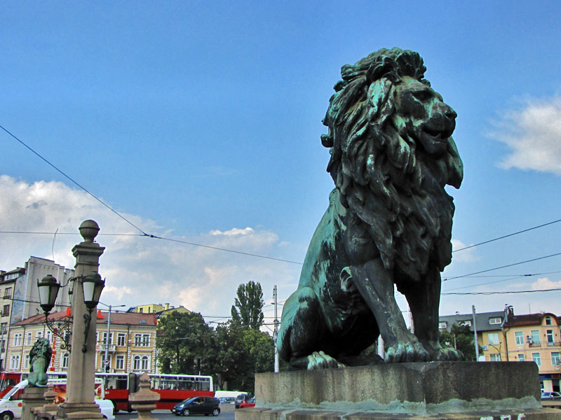 Lions' Bridge, Sofia